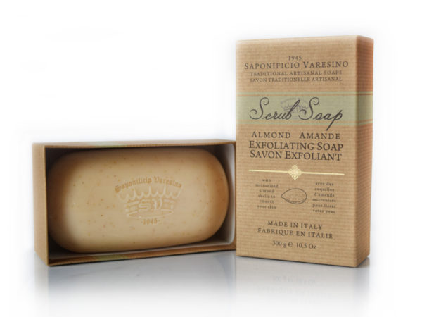 Almond Scrub Soap 300g
