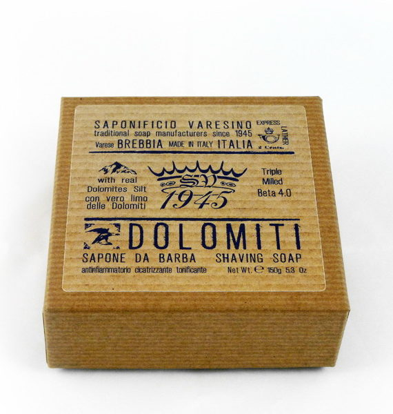 dolomiti shaving soap