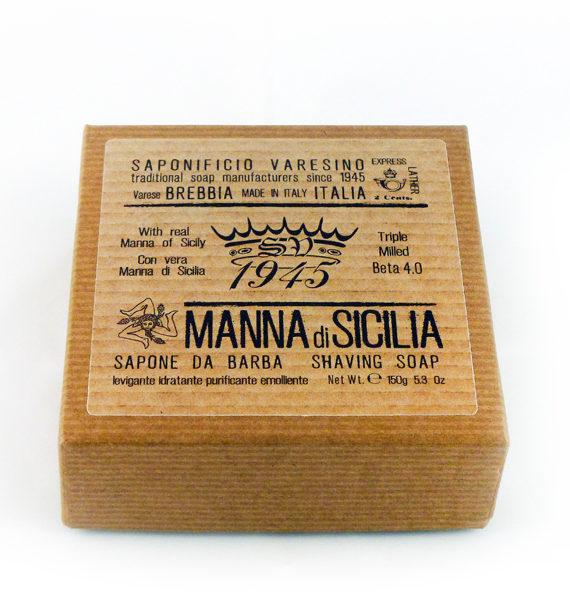 manna di sicilia shaving soap